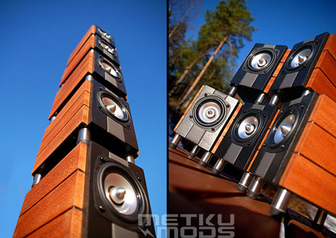 LOGiWOOD : Z-5500 5.1 Speaker Set Mod With Natural Materials. » image 4