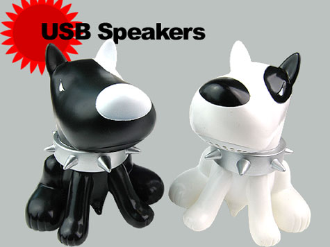 Twin Dog USB Stereo Speaker Amplifier For iPod Mp3 Mp4  » image 1