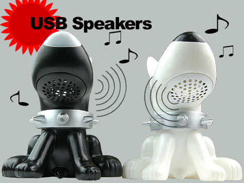 Twin Dog USB Stereo Speaker Amplifier For iPod Mp3 Mp4  » image 2