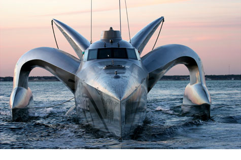 The Earthrace Boat » image 1