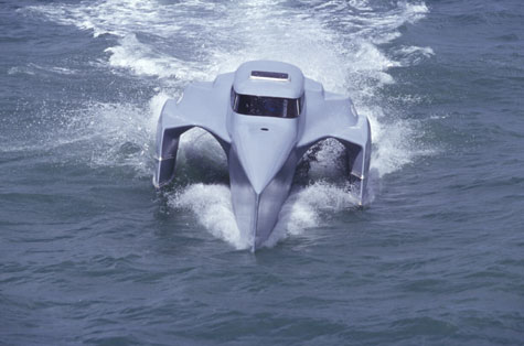 The Earthrace Boat » image 2