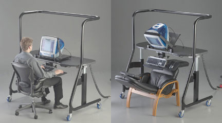 Ergopod 500: Work In Your Bed. Full Specification & Details » image 1