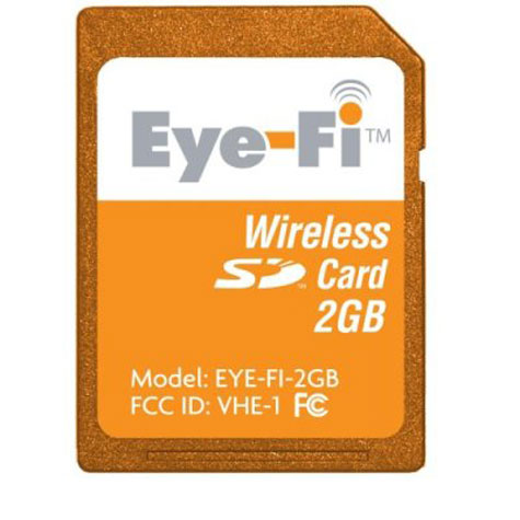 Eye-Fi Card, Wireless 2GB SD Memory Card » image 1