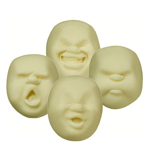 Faces On The Moon Stress Balls » image 1