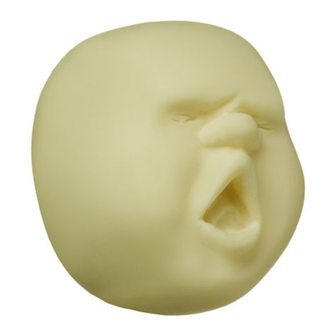 Faces On The Moon Stress Balls » image 3