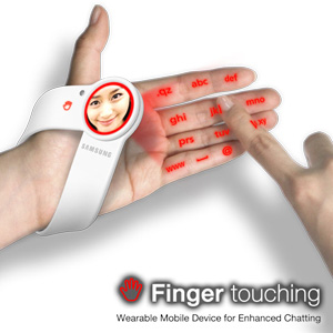 Finger Touching Wearable Mobile Device » image 01