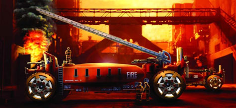 2025 Firetruck Concept - Harald Belkers Futuristic Vision » image 1