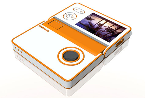 FLAPCAM,Folding Digital Camera » image 2