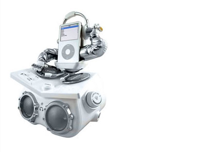 FUNKit Animated DJ Speaker System For iPod » image 1