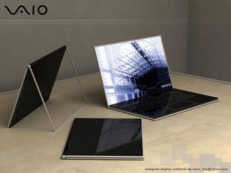 Futuristic Sony Vaio Zoom » image 1