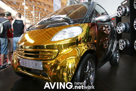 Brock Gold Plated Benz: Smart Tuning-Car » image 1
