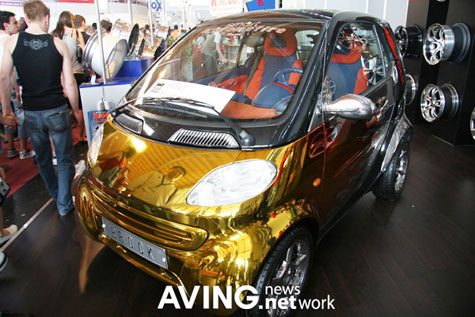 Brock Gold Plated Benz: Smart Tuning-Car » image 2