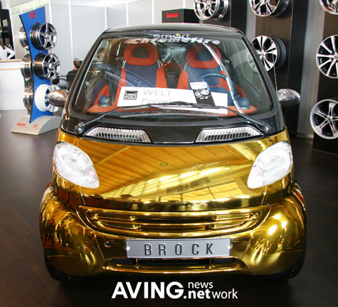 Brock Gold Plated Benz: Smart Tuning-Car » image 4