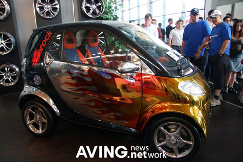 Brock Gold Plated Benz: Smart Tuning-Car » image 5