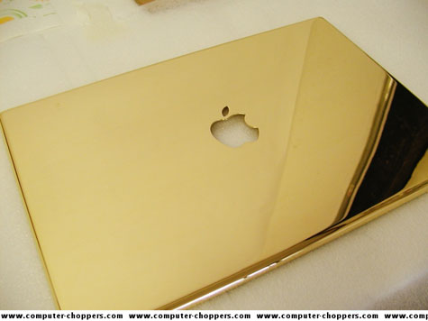 Gold Plated Macbook Pro » image 2