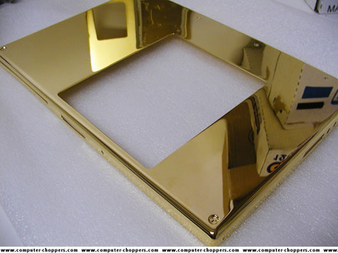 Gold Plated Macbook Pro » image 3