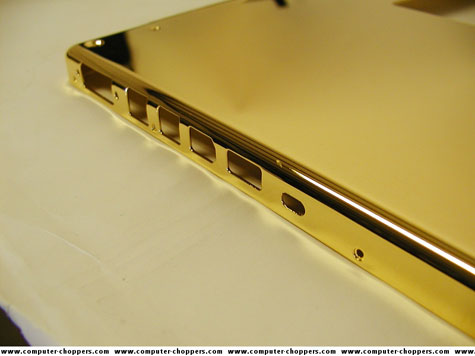Gold Plated Macbook Pro » image 5