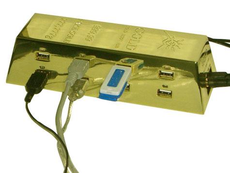USB Hub : Gold Style » image 1