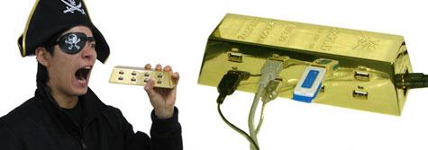 USB Hub : Gold Style » image 4