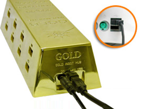 USB Hub : Gold Style » image 5