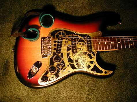 A Clockwork Guitar - The Steampunk Stratocaster » image 01
