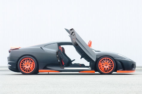 HAMANN Ferrari F430 Black Miracle » image 10
