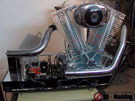 Harley Davidson V2 Engine Case Mod » image 1