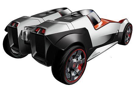 Hondas Extreme Eco-Batmobile » image 1