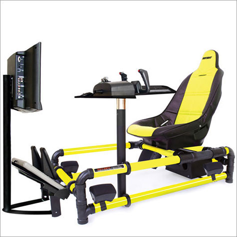 HotSeats 723 - Flight Simulator TRX Game Chair with 23 Widescreen HDTV LCD » image 1