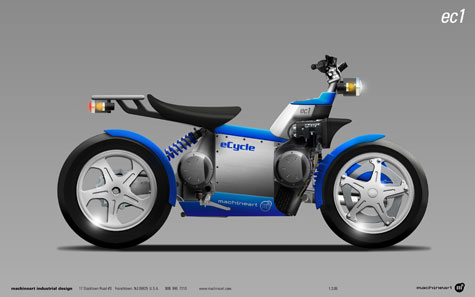 eCycle And Machineart Develop A Hybrid Motorcycle Concept » image 1