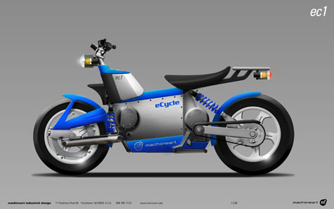 eCycle And Machineart Develop A Hybrid Motorcycle Concept » image 2