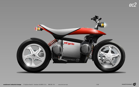 eCycle And Machineart Develop A Hybrid Motorcycle Concept » image 3