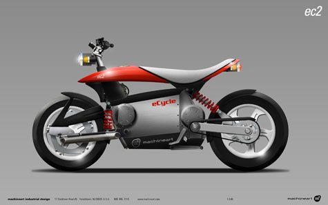 eCycle And Machineart Develop A Hybrid Motorcycle Concept » image 4
