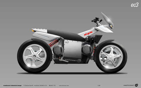 eCycle And Machineart Develop A Hybrid Motorcycle Concept » image 5