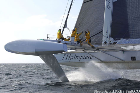 Hydroptere Flying Yacht » image 1