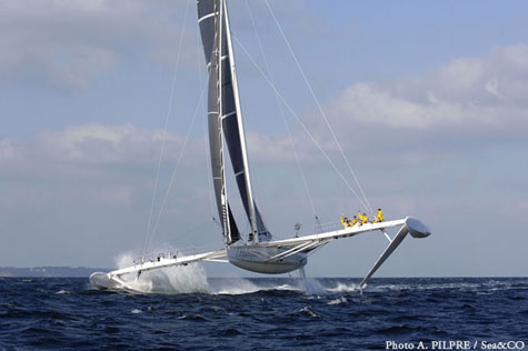 Hydroptere Flying Yacht » image 2