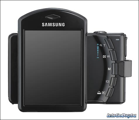 Samsung i7 Digital Camera has a Rotating LCD » image 01