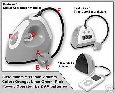 NEW iPod Speaker + Radio + Alarm Clock 3in1 » image 3