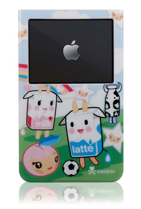 The Superb Tokidoki iSkin Vibes Skins For iPod » image 1