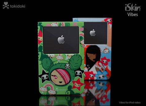 The Superb Tokidoki iSkin Vibes Skins For iPod » image 3