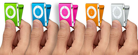 Colorful Apple iPod Shuffle  » image 1