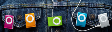 Colorful Apple iPod Shuffle  » image 3