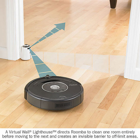 iRobot Roomba® 570 Vacuum Cleaning Robot Full Review and Specifications  » image 6