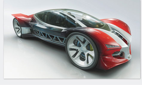 Javelin Speedsled Concept Car » image 1