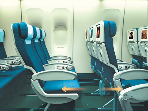 Korean Air Coach Cabin With LCD Touch Screen » image 4