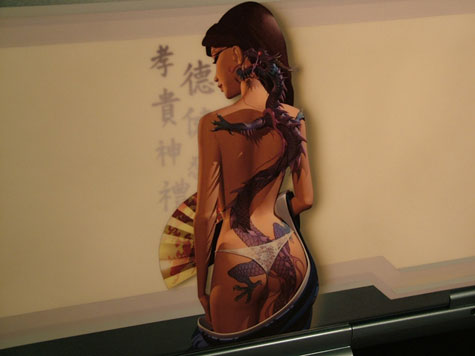Dragon Tatoo Laptop Sleeves » image 2