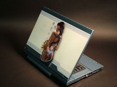 Dragon Tatoo Laptop Sleeves » image 3