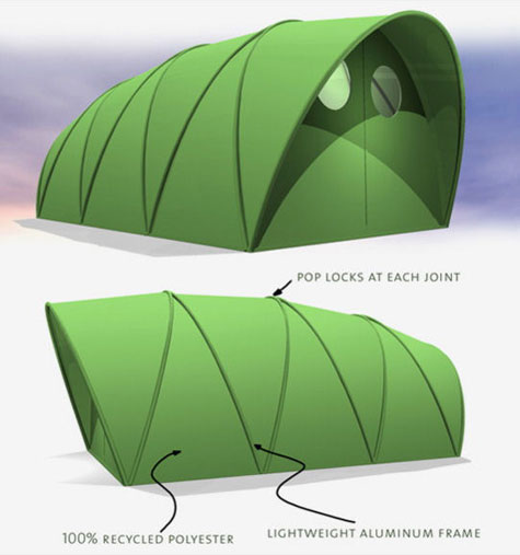 Lightweight Emergency Shelter » image 1