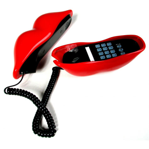 Red Lips Style Telephone » image 2