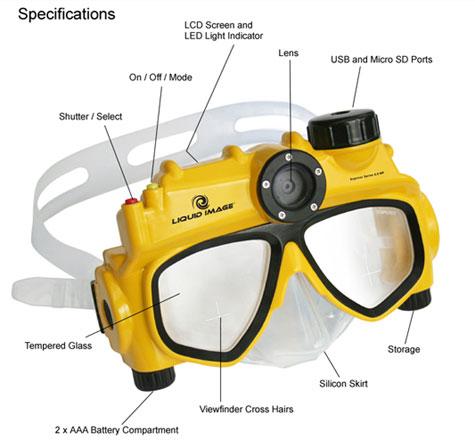 Liquid Image Underwater Digital Camera Mask » image 1